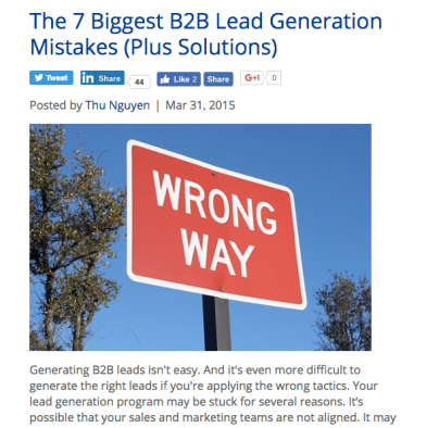 b2b lead generation dmn3
