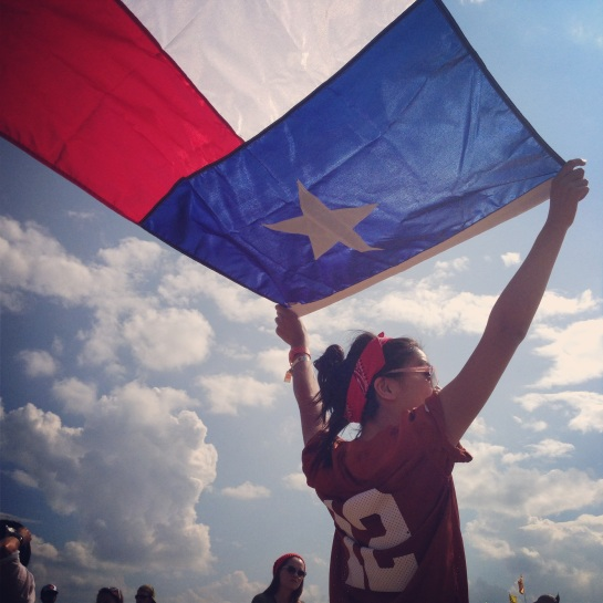 thu texas flag
