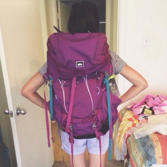 thu texas backpacking