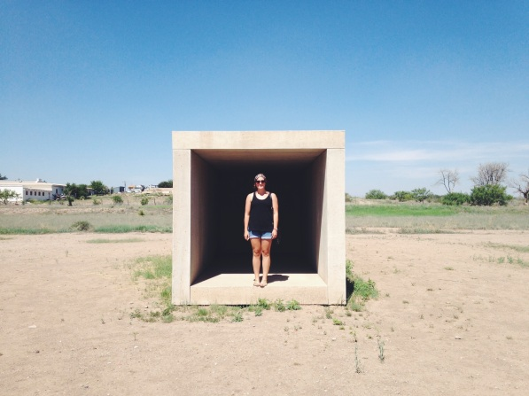 Breaking rules in Marfa, TX