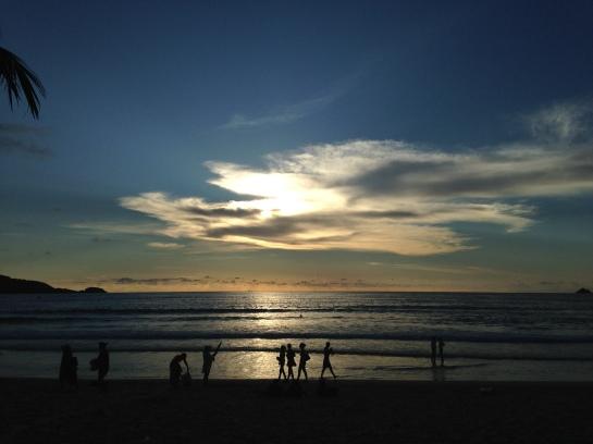 phuket evening