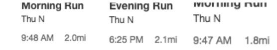 strava running mileage