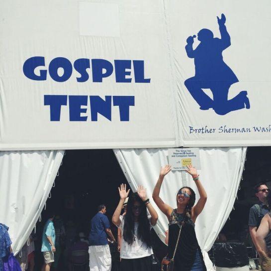 jazz fest gospel tent