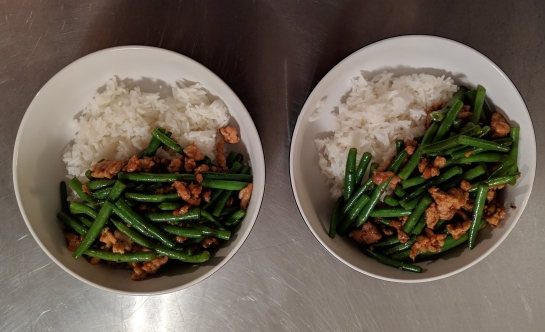 green beans and ground pork vietnamese